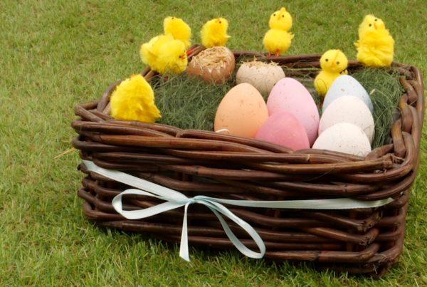 diy húsvéti díszítés