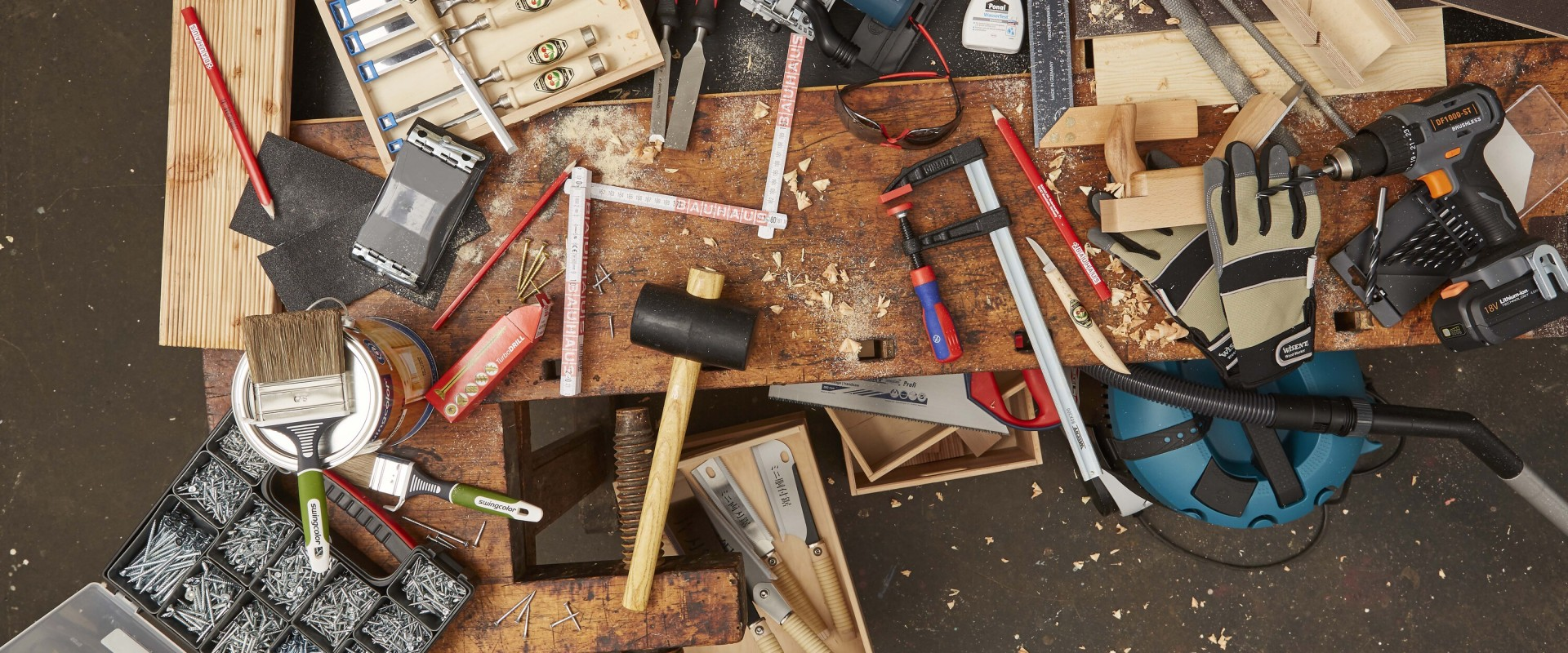 A 7 legfontosabb faipari szerszám, amire minden kezdő barkácsmesternek szüksége van