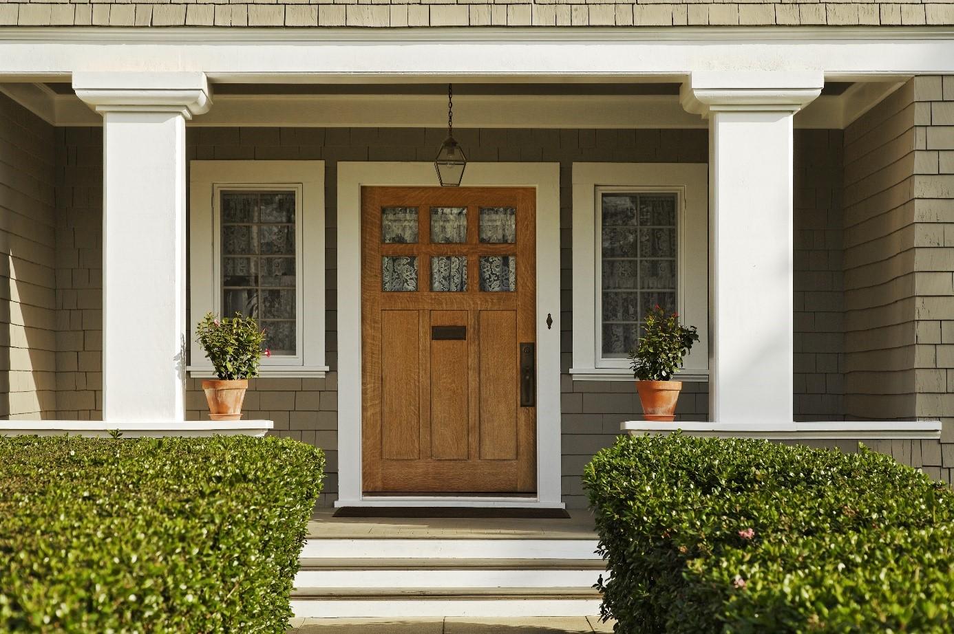 A bejárati ajtók típusai
